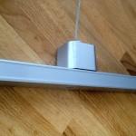 Une installation facile et évolutive de vos porte affiche led avec le rail électrique Lumicadre