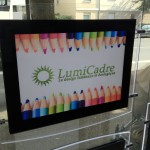 Porte affiche led Lumicadre A4
