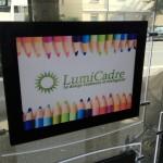 Porte affiche led Lumicadre A4