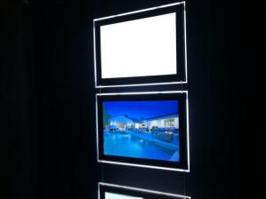 Mesure performance luminosité des cadres led Lumicadre. Plus de 7200 luxs !