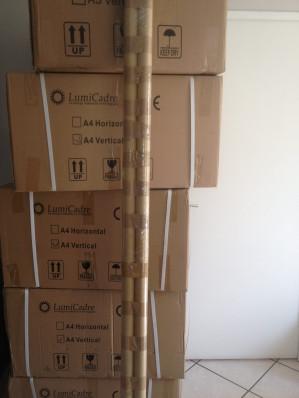 Soldes Eté 2014 : 600€ pour équiper une vitrine de 2m.