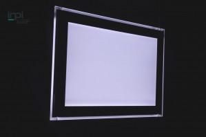 Levitation, le nouveau porte affiche lumineux led Lumicadre